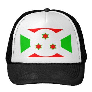 Bandera de alta calidad de Burundi Gorros