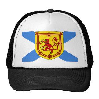 Bandera de alta calidad de Canadá Nueva Escocia Gorras De Camionero