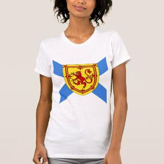 Bandera de alta calidad de Canadá Nueva Escocia Playera