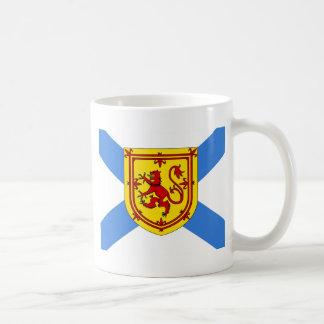 Bandera de alta calidad de Canadá Nueva Escocia Taza Clásica