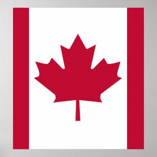 Bandera de alta calidad de Canadá Impresiones