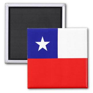 Bandera de alta calidad de Chile Iman