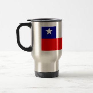 Bandera de alta calidad de Chile Taza Térmica