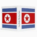 Bandera de alta calidad de Corea del Norte