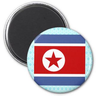 Bandera de alta calidad de Corea del Norte Iman De Frigorífico