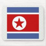 Bandera de alta calidad de Corea del Norte Alfombrilla De Ratón