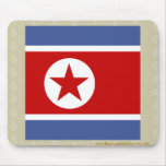Bandera de alta calidad de Corea del Norte Alfombrilla De Raton