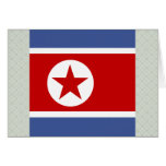 Bandera de alta calidad de Corea del Norte Felicitaciones