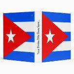 """Bandera de alta calidad de Cuba Carpeta 1"""""""