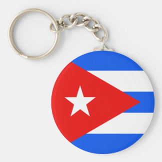 Bandera de alta calidad de Cuba Llavero