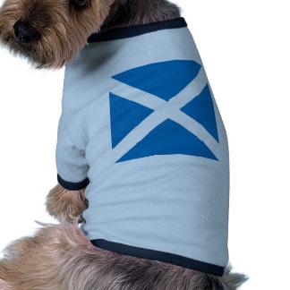 Bandera de alta calidad de Escocia Camiseta Con Mangas Para Perro