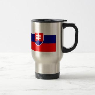 Bandera de alta calidad de Eslovaquia Taza De Viaje