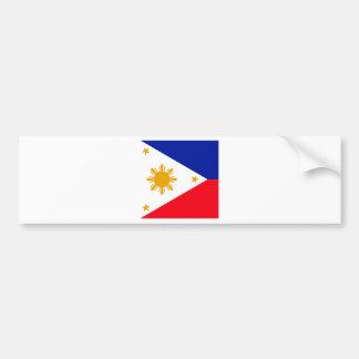 Bandera de alta calidad de Filipinas Pegatina Para Auto