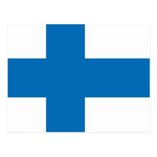 Bandera de alta calidad de Finlandia Tarjetas Postales