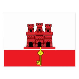 Bandera de alta calidad de Gibraltar Tarjetas Postales