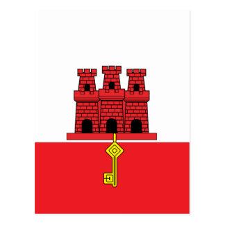 Bandera de alta calidad de Gibraltar Postal