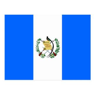 Bandera de alta calidad de Guatemala Postales