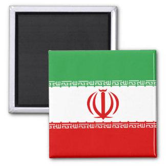 Bandera de alta calidad de Irán Imán Cuadrado
