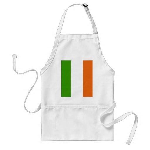Bandera de alta calidad de Irlanda Delantales