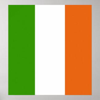 Bandera de alta calidad de Irlanda Póster