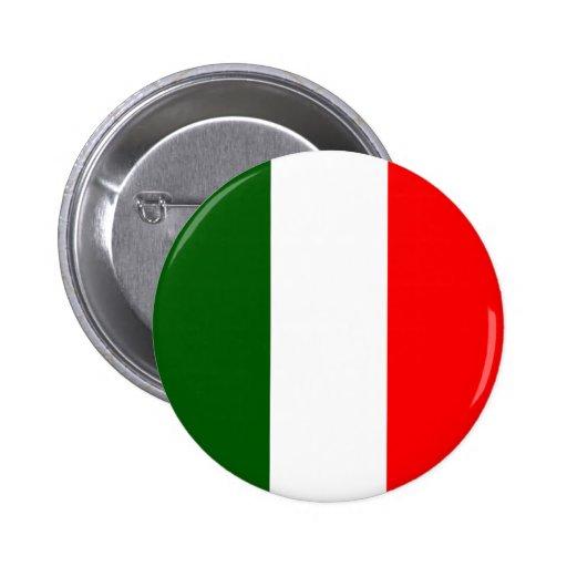 Bandera de alta calidad de Italia Pin Redondo De 2 Pulgadas