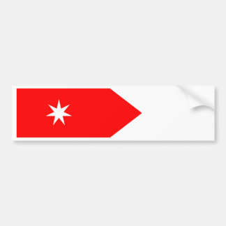 Bandera de alta calidad de Jordania Etiqueta De Parachoque