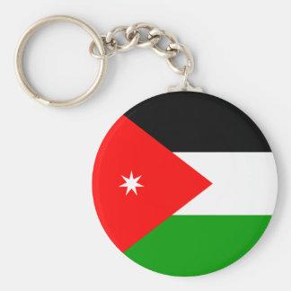 Bandera de alta calidad de Jordania Llavero Redondo Tipo Pin