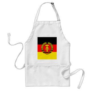 Bandera de alta calidad de la Alemania Oriental Delantales