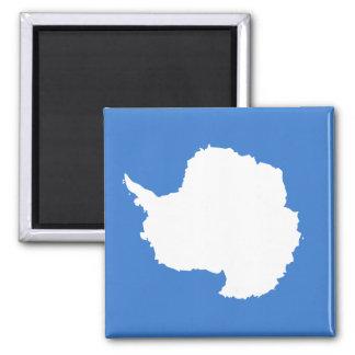 Bandera de alta calidad de la Antártida Imán Cuadrado