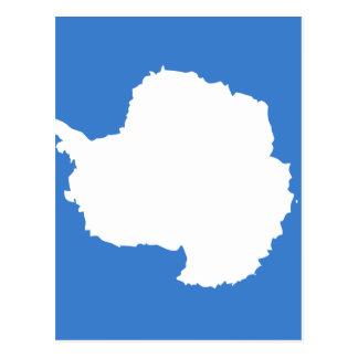 Bandera de alta calidad de la Antártida Tarjetas Postales