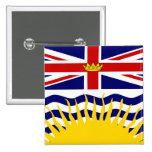 Bandera de alta calidad de la Columbia Británica d Pins