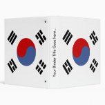 Bandera de alta calidad de la Corea del Sur