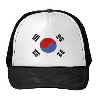Bandera de alta calidad de la Corea del Sur Gorros