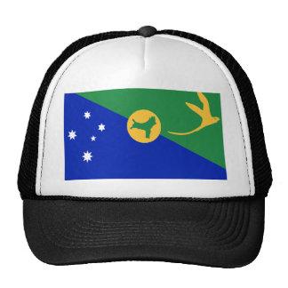 Bandera de alta calidad de la Isla de Navidad Gorros