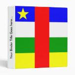 Bandera de alta calidad de la República Centroafri