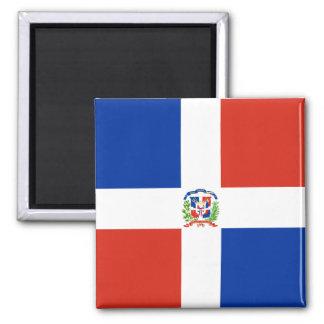 Bandera de alta calidad de la República Dominicana Iman De Frigorífico