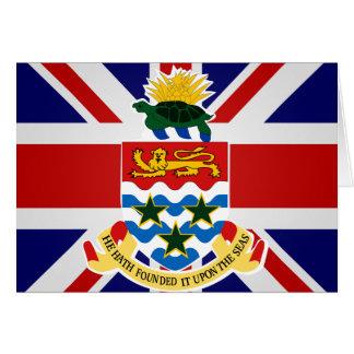 Bandera de alta calidad de las Islas Caimán Tarjetas