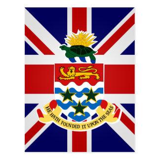 Bandera de alta calidad de las Islas Caimán Tarjetas Postales
