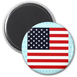 Bandera de alta calidad de los E E U U Imán Para Frigorifico