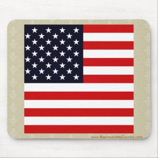 Bandera de alta calidad de los E.E.U.U. Mouse Pads
