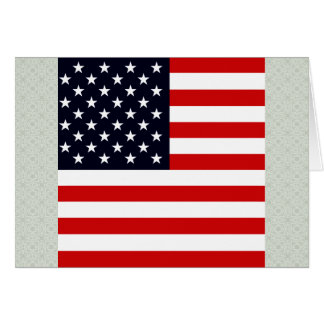 Bandera de alta calidad de los E.E.U.U. Tarjeta De Felicitación