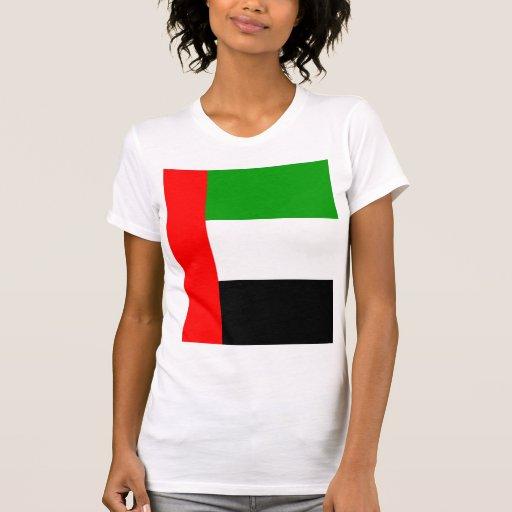 Bandera de alta calidad de los emiratos árabes camiseta