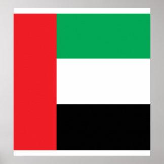 Bandera de alta calidad de los Uae Posters