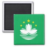 Bandera de alta calidad de Macao Imán De Frigorífico