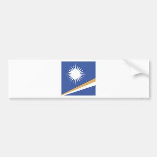 Bandera de alta calidad de Marshall Islands Pegatina Para Auto