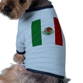 Bandera de alta calidad de México Camiseta De Perro