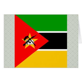 Bandera de alta calidad de Mozambique Tarjeton