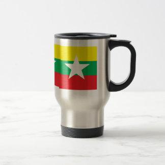 Bandera de alta calidad de Myanmar Tazas