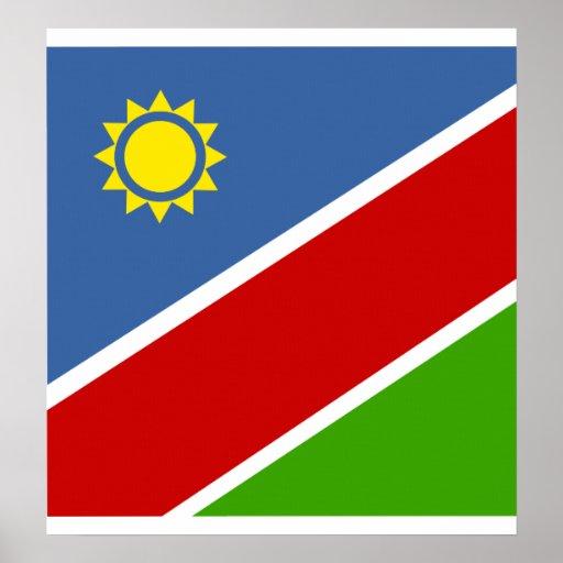 Bandera de alta calidad de Namibia Impresiones