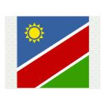 Bandera de alta calidad de Namibia Tarjeta Postal